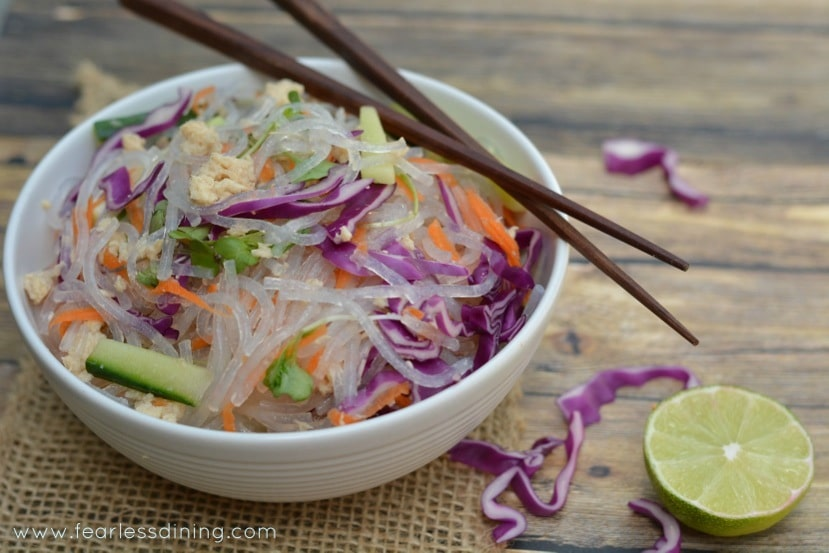 Chilled Tuna Noodle Salad http://fearlessdining.com