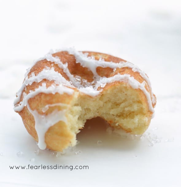 Gluten Free Lemon Donuts That Your Kids Will Beg For! - Fearless ...