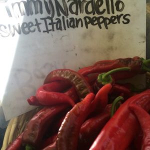 Jimmy Nardello Sweet Italian Peppers