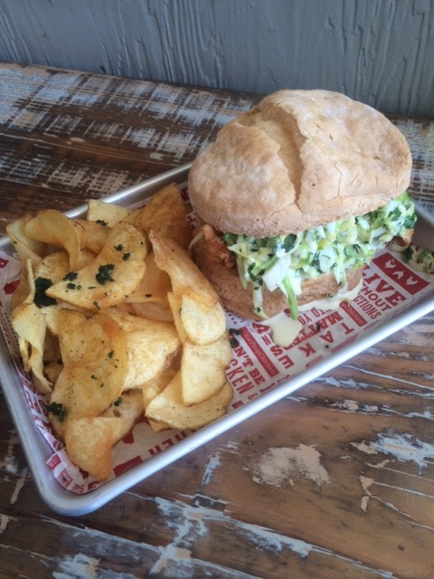 Proposition Chicken Flipped sandwich #glutenfree