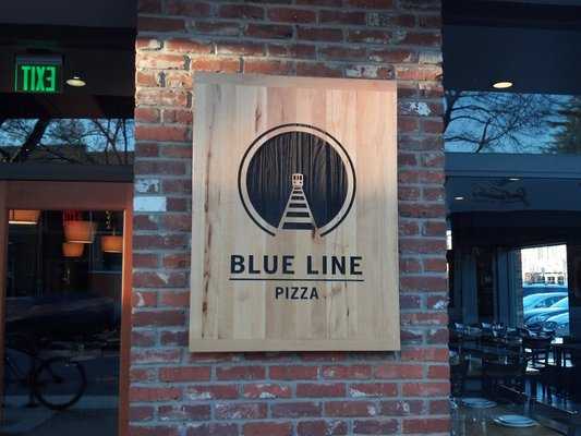 Blue Line Pizza Campbell http://fearlessdining.com