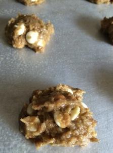 acorn cookie dough