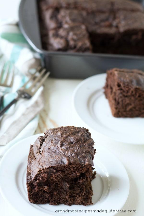 Gluten Free Devil's Food Cake Image
